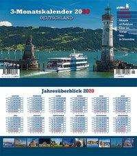 Jörg Neubert: Deutschland 2020 3-Monatskalender, Diverse