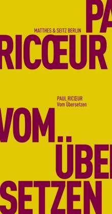 Paul Ricoeur: Vom Übersetzen, Buch