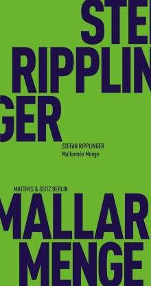 Stefan Ripplinger: Mallarmés Menge, Buch