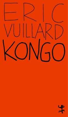 Éric Vuillard: Kongo, Buch