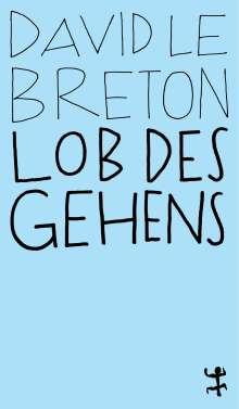 David Le Breton: Lob des Gehens, Buch
