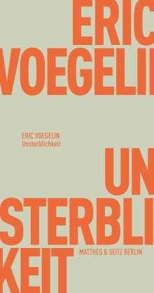 Eric Voegelin: Unsterblichkeit, Buch