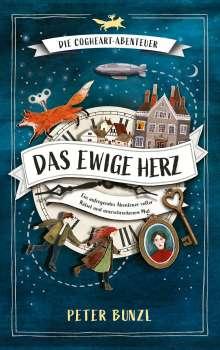 Peter Bunzl: Die Cogheart-Abenteuer: Das ewige Herz, Buch