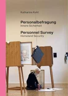 Katharina Kohl: Personalbefragung. Innere Sicherheit, Buch