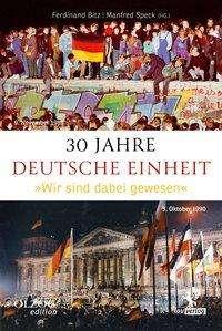 Alfons Hörmann: 30 Jahre Deutsche Einheit, Buch