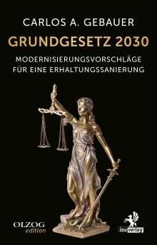 Carlos A. Gebauer: Grundgesetz 2030, Buch