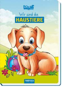 """Pop-up-Buch """"Wir sind die Haustiere"""", Buch"""