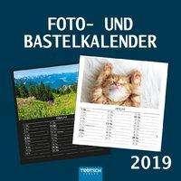 Foto- und Bastelkalender medium 2019, Diverse