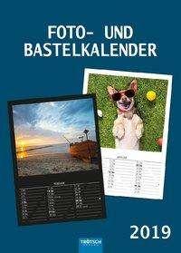 Foto- und Bastelkalender A4 2019, Diverse