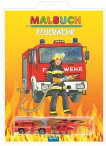 """Malbuch """"Feuerwehr"""", Buch"""