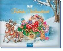"""Mini Pop-Up Buch """"Fröhliche Weihnachtszeit"""", Buch"""