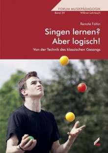 Renate Faltin: Singen lernen? Aber logisch!, Buch