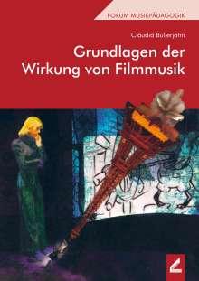 Claudia Bullerjahn: Grundlagen der Wirkung von Filmmusik, Buch