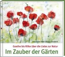Hans-Jürgen Gaudeck: Im Zauber der Gärten, Buch