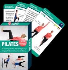 Benno Paulitz: Trainingskarten: Pilates ohne Geräte, Buch