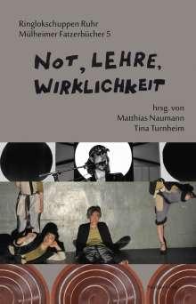 Sonja Bender: Not, Lehre, Wirklichkeit, Buch