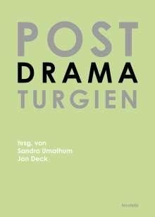 Jan Deck: Postdramaturgien, Buch