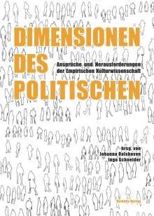Jens Adam: Dimensionen des Politischen, Buch