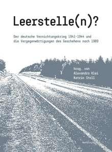 Leerstelle(n)?, Buch
