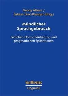 Mündlicher Sprachgebrauch, Buch