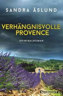 Sandra Åslund: Verhängnisvolle Provence, Buch