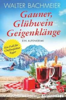 Walter Bachmeier: Gauner, Glühwein, Geigenklänge, Buch