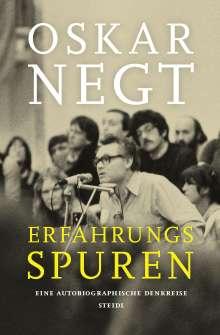 Oskar Negt: Erfahrungsspuren. Eine autobiografische Denkreise, Buch