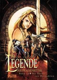 Ange: Die Legende der Drachenritter 24. Die Nächte von Haxandrien, Buch