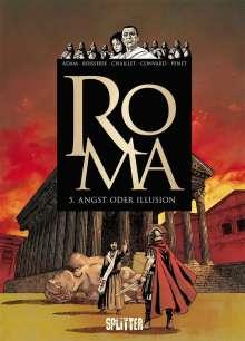 Eric Adam: Roma 05. Angst oder Illusion, Buch