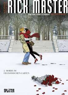 Zidrou: Die neue Fälle des Rick Master 02. Morde im französischen Garten, Buch