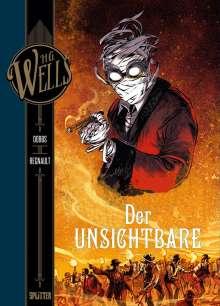Dobbs: H.G. Wells. Band 6: Der Unsichtbare, Teil 2, Buch
