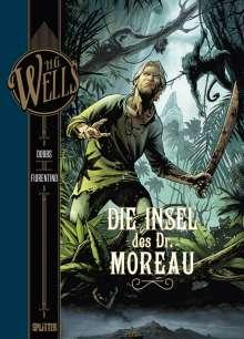 Dobbs: H.G. Wells. Band 4: Die Insel des Dr. Moreau, Buch