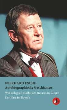 Eberhard Esche: Autobiographische Geschichten, Buch