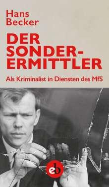 Hans Becker: Der Sonderermittler, Buch