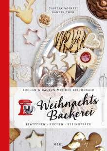 Claudia Jasinski: Kochen & Backen mit der KitchenAid: Weihnachtsbäckerei, Buch