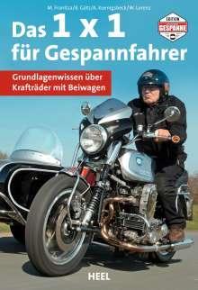 Martin Franitza: Das 1 x 1 für Gespannfahrer, Buch