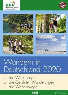 Wandern in Deutschland 2020, Buch