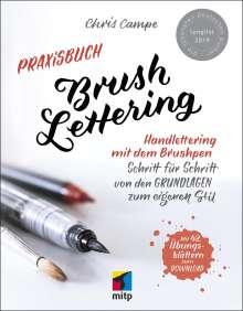 Chris Campe: Praxisbuch Brush Lettering, Buch