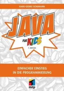 Hans-Georg Schumann: Java für Kids, Buch