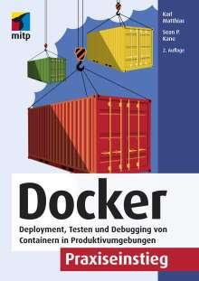 Karl Matthias: Docker Praxiseinstieg, Buch