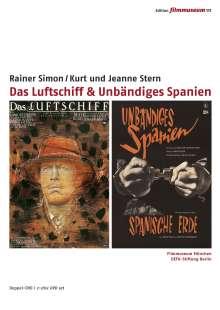 Das Luftschiff / Unbändiges Spanien, DVD