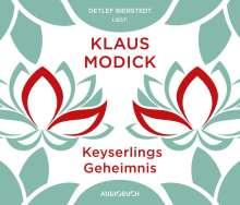 Klaus Modick: Keyserlings Geheimnis, 6 CDs