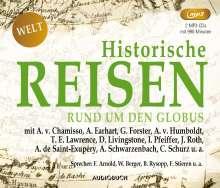 Historische Reisen - rund um den Globus, MP3-CD