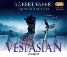 Robert Fabbri: Vespasian: Der gefallene Adler, MP3-CD