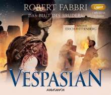 Robert Fabbri: Vespasian: Das Blut des Bruders, MP3-CD