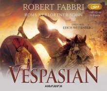 Robert Fabbri: Vespasian: Roms verlorener Sohn, MP3-CD