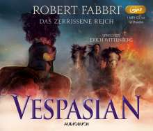 Robert Fabbri: Vespasian: Das zerrissene Reich, MP3-CD