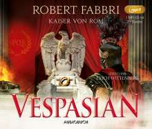 Robert Fabbri: Vespasian: Kaiser von Rom, MP3-CD