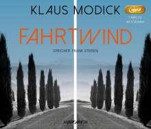 Klaus Modick: Fahrtwind, MP3-CD