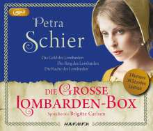 Petra Schier: Die große Lombarden-Box, 3 Diverse